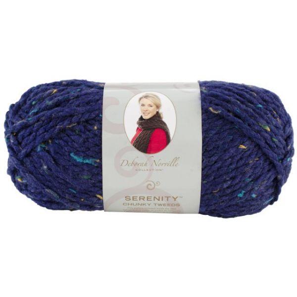 Deborah Norville Collection Serenity Chunky Tweed Yarn - Eclipse
