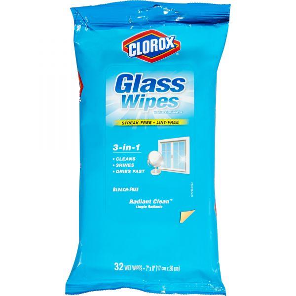 Clorox 3-in-1 Radiant Clean Glass Wipes