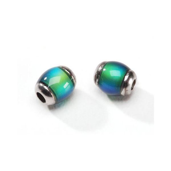 Darice Jewelry Designer Oval Mood Beads