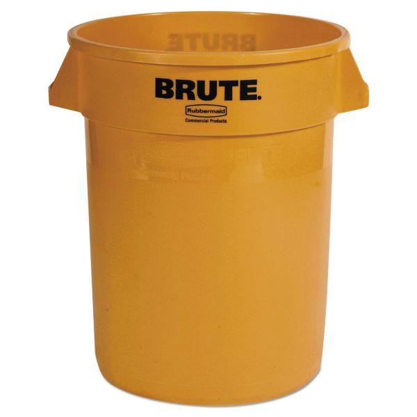 Rubbermaid Round Brute 32 Gallon Trash Can