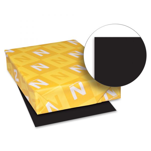 Astrobrights Colored Paper - Eclipse Black