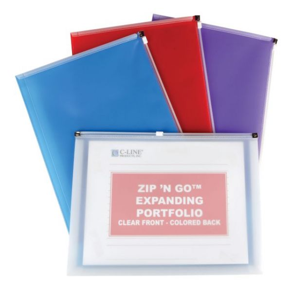 C-Line Zip 'N Go Reusable Envelope