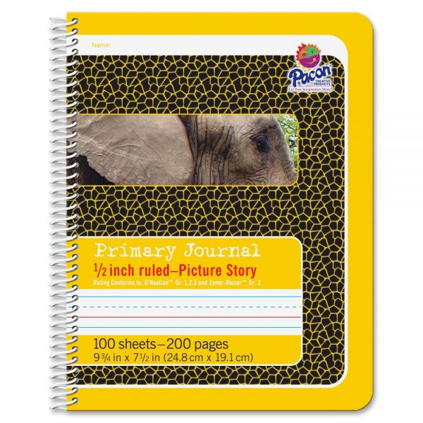 "Pacon Picture Story 1/2"" Ruled Composition Book"