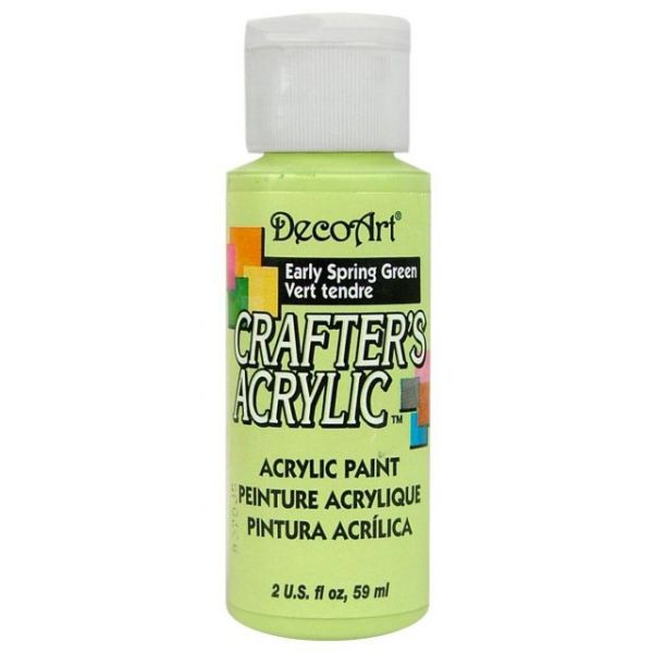 Deco Art Crafter's Acrylic Early Spring Green Acrylic Paint