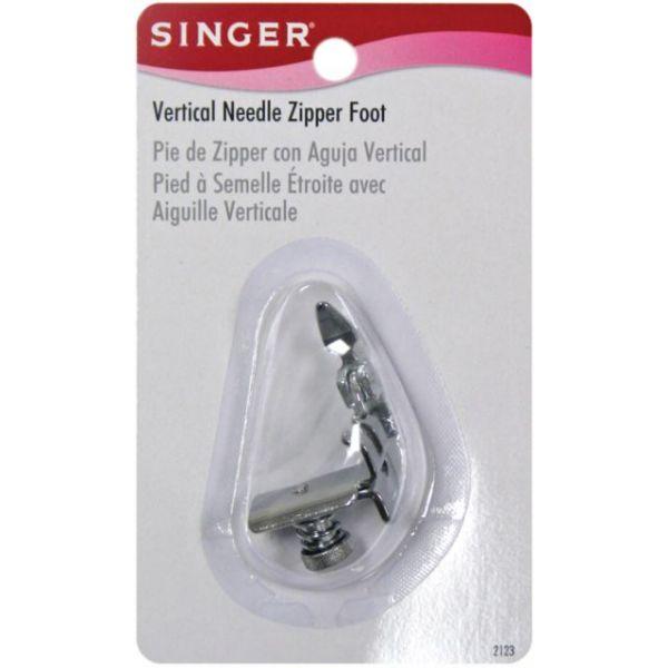Vertical Needle Zipper Foot