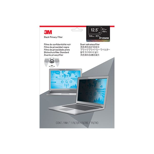 """3M PF12.5W9 Privacy Filter for Widescreen Laptop 12.5"""""""