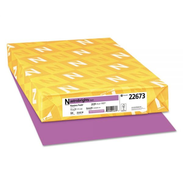 Neenah Paper Astrobrights Colored Paper - Purple