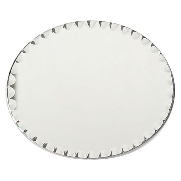 Oval Glass Mirror W/Scallop Edge Bulk