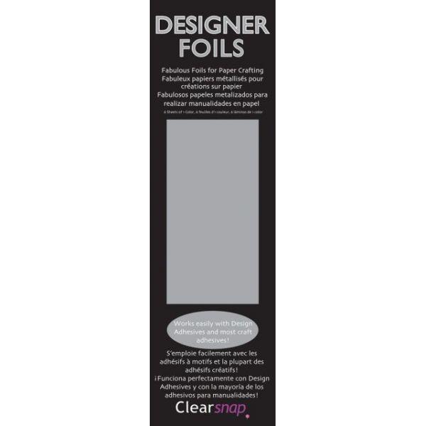 """Clearsnap Designer Foils 2""""X7"""" 6/Pkg"""