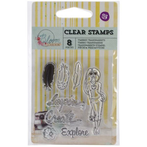 "Bloom Clear Stamps 2.5""X3"""