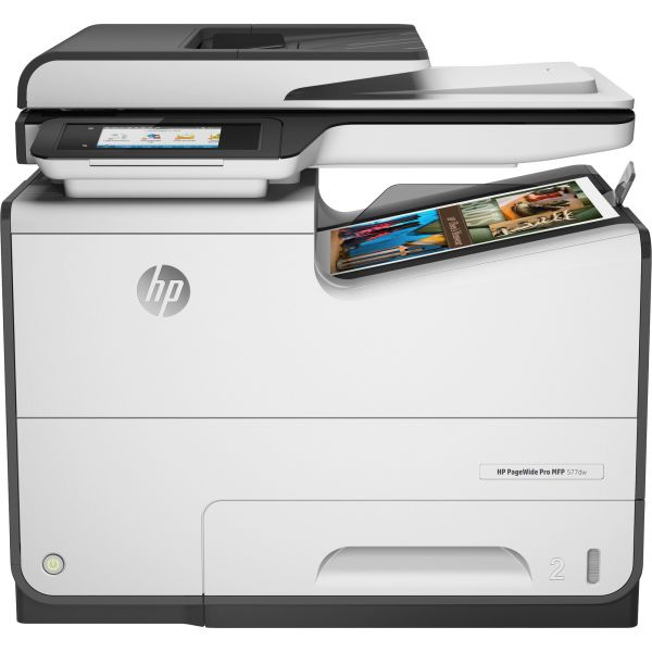 HP PageWide Pro 577dw Multifunction Printer, Copy/Fax/Print/Scan