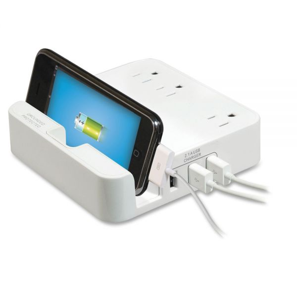 Compucessory Surge Protection iPad Desktop Stand