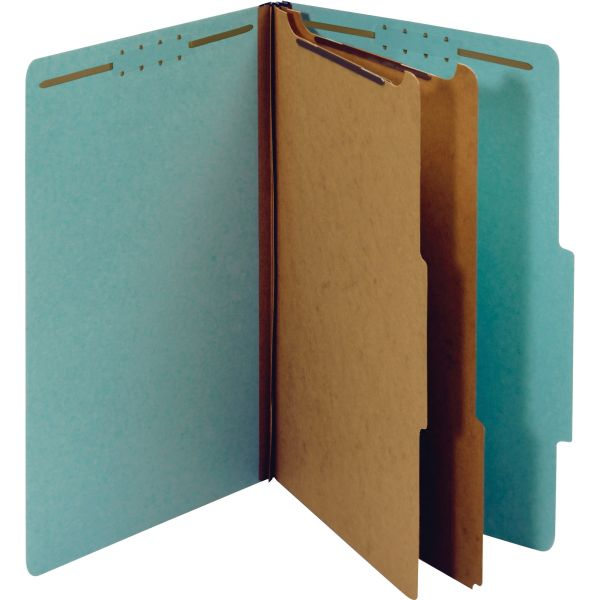 Globe-Weis Recycled Pressboard Classification Folders