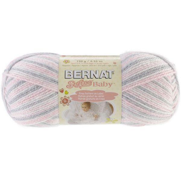 Bernat Softee Baby Yarn - Pink Flannel