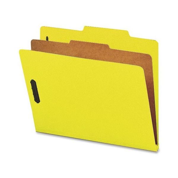 Nature Saver Yellow Classification Folders