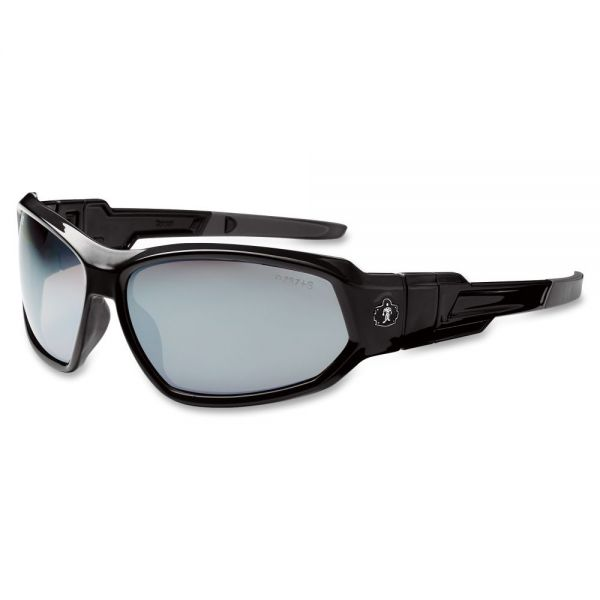 Ergodyne Loki Silver Mirror Lens Safety Glasses