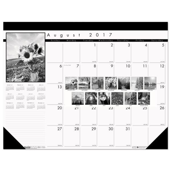 House of Doolittle Monthly Academic Desk Pad Calendar