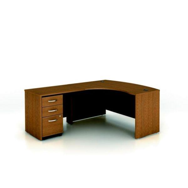 bbf Series C Professional Configuration - Warm Oak finish by Bush Furniture