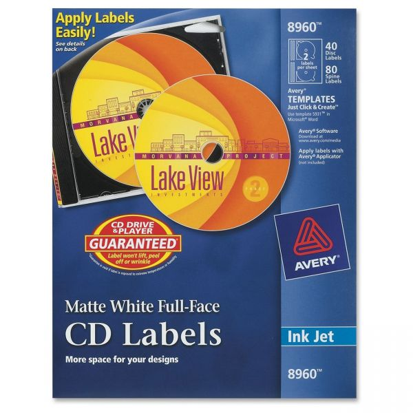 Avery Full-Face CD Labels