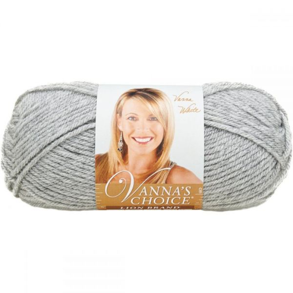 Lion Brand Vanna's Choice Yarn - Silver Heather