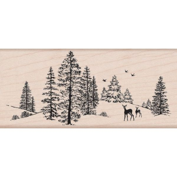 "Hero Arts Mounted Rubber Stamps 2.25""X5"""