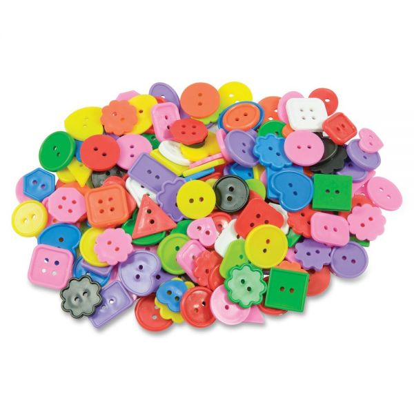 Roylco Bright Color Craft Buttons