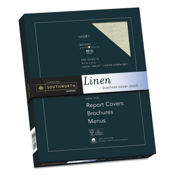 Southworth Linen Business Cover Stock