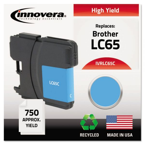 Innovera Remanufactured Brother LC65 High Yield Ink Cartridge