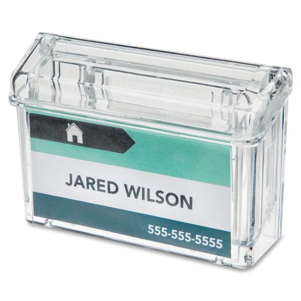 deflecto Outdoor Business Card Holder