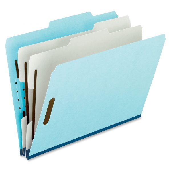 Pendaflex 2-Divider Pressboard Classification Folders