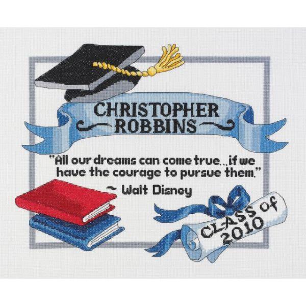 Graduation Dreams Counted Cross Stitch Kit