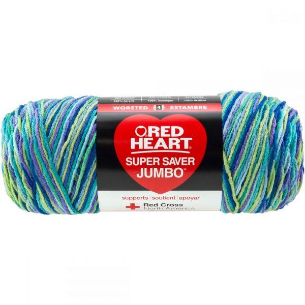Red Heart Super Saver Yarn - Wildflower