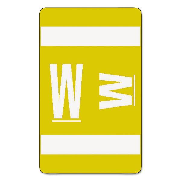 Smead AlphaZ ACCS Color-Coded Alphabetic Label - W