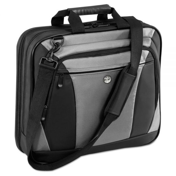"Targus CityLite Laptop Case 15.6"", 13-1/2 x  4-3/5 x 17-1/2, Black/Gray"