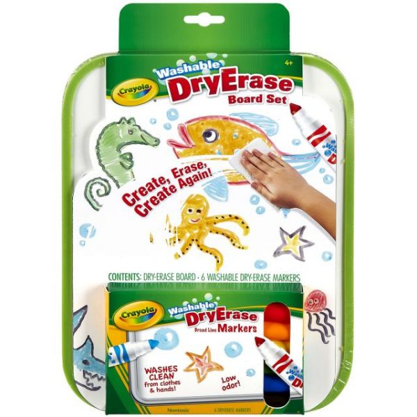 Crayola Washable Dry-Erase Board Set