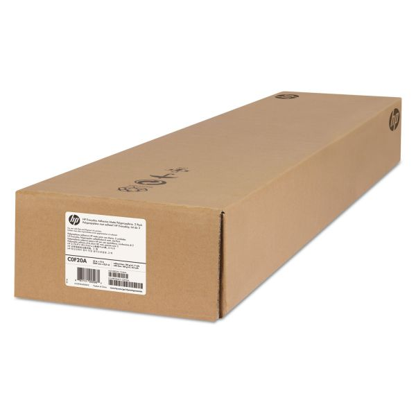 """HP Everyday 42"""" Wide Format Adhesive Polypropylene Paper"""