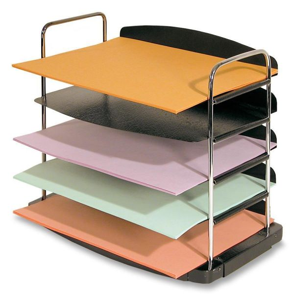 Buddy Trio Line 5-tier Horizontal Desk Tray