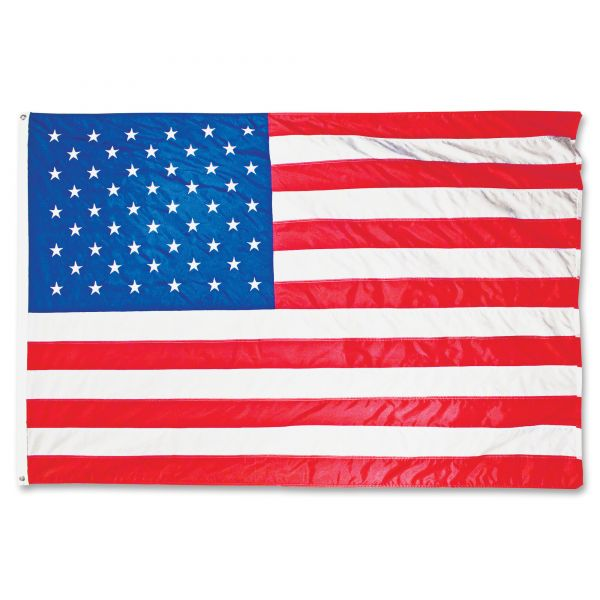 Advantus All-Weather Outdoor U.S. Flag, Heavyweight Nylon, 3 ft x 5 ft