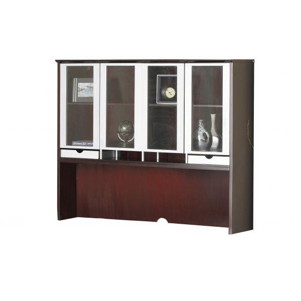 Mayline Glass Door Hutch