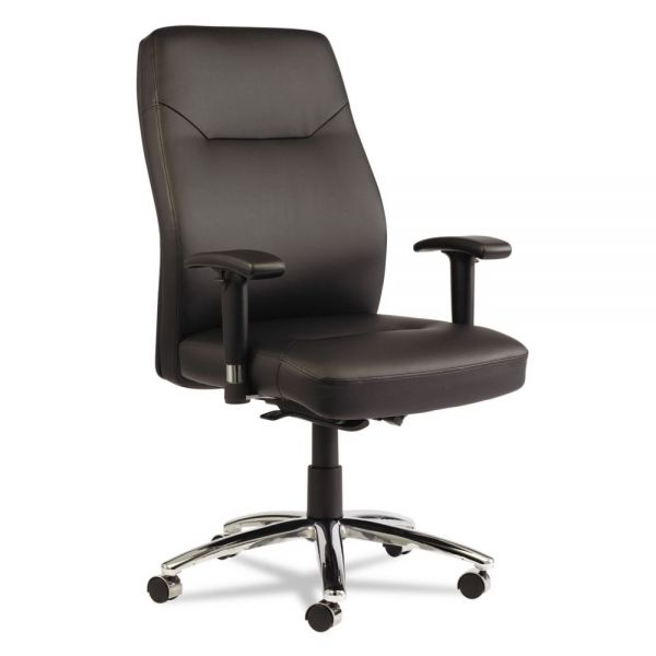 Alera LC Leather Series Self-Adjusting Office Chair