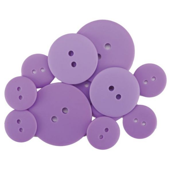 Favorite Findings Matte Buttons 11/Pkg