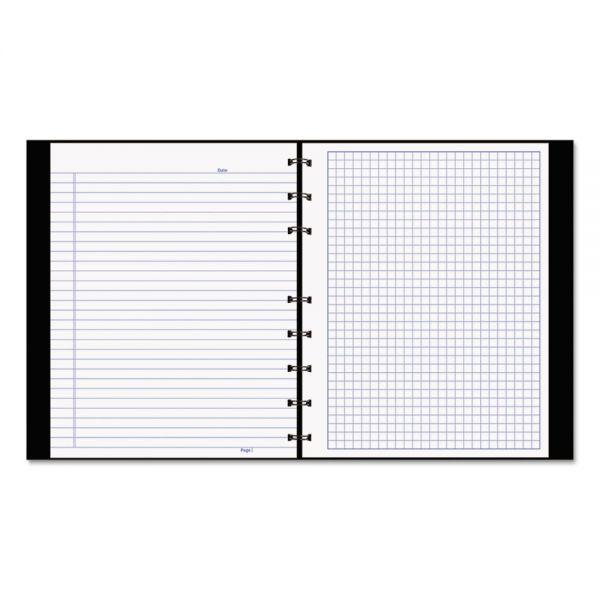 Blueline NotePro Quadrille Ruled Notebook, 9 1/4 x 7 1/4, White, 96 Sheets