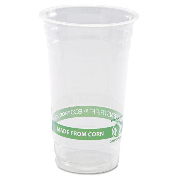 Eco-Products GreenStripe 24 oz Plastic Cups
