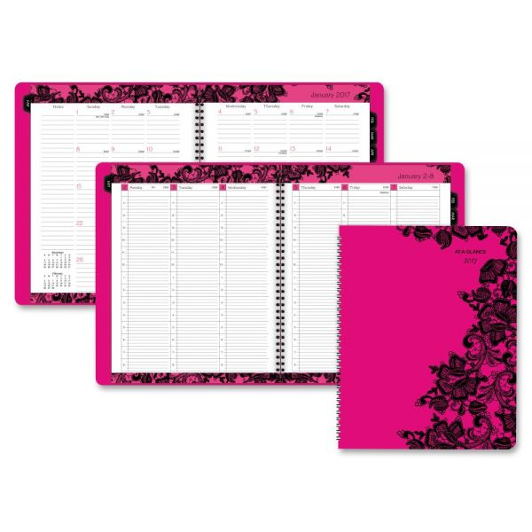 At-A-Glance Madonna Lace Premium Appointment Book