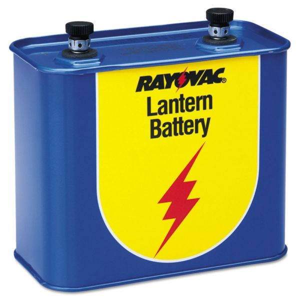 Rayovac Lantern Battery, 6 Volt