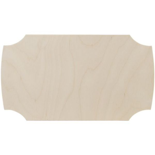 Baltic Birch Plaque