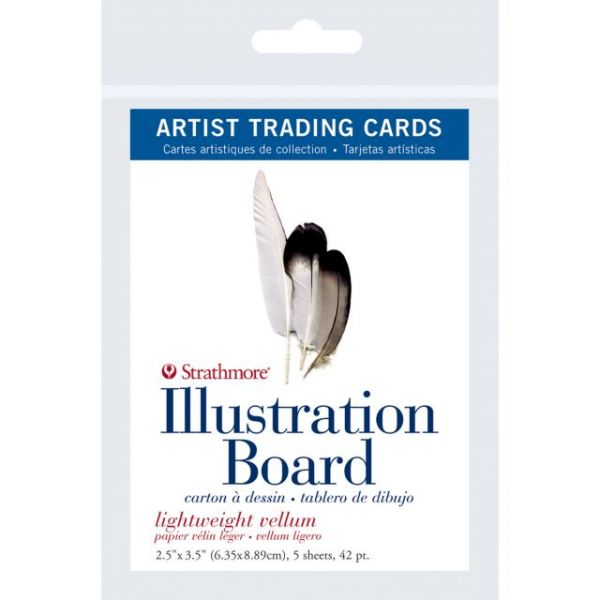 Strathmore Artist Trading Cards Illustration Board Paper