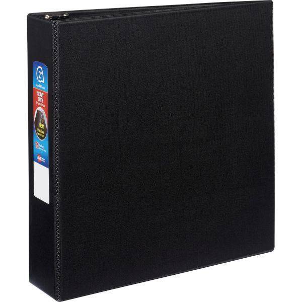 """Avery Heavy-Duty 3-Ring Binder with One Touch EZD Rings, 2"""" Capacity, Black"""