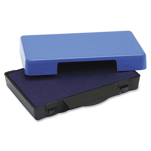 Identity Group T5470 Dater Replacement Ink Pad, 1 5/8 x 2 1/2, Blue
