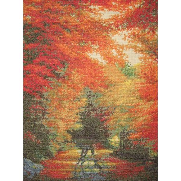 Autumn In New England Counted Cross Stitch Kit